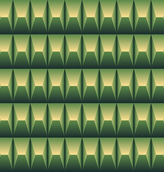 Green geometric pattern seamless vector