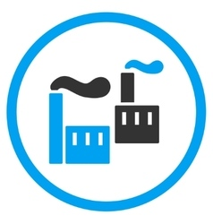 Industry Circled Icon vector