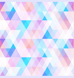 pastel color mosaic seamless pattern vector image