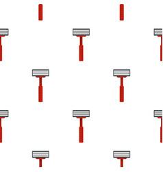 Shaver razor pattern seamless vector