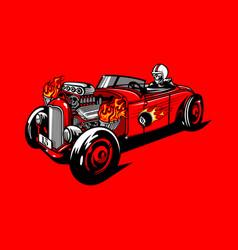 Vintage car 11 vector