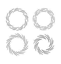 vintage sunburst explosion hand drawn design vector image