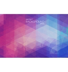 Violet 2D mosaic background with triangle shapes vector
