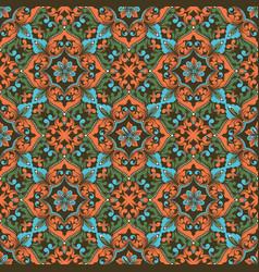 Zentangle seamless pattern vector