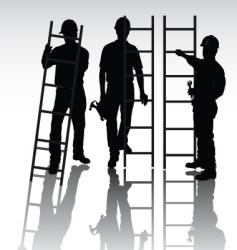 workers set vector image