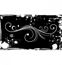 illustration ornate grunge for design vector image