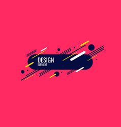 Abstract geometric background the poster vector