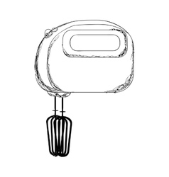 Electric mixer or beater icon image vector