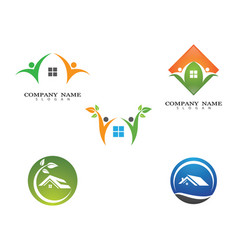 house symbol design vector image