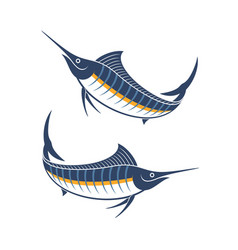 marlin vector image