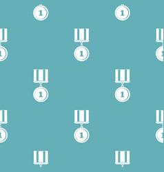 Medal pattern seamless vector