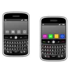 Modern multimedia smartphone vector