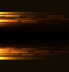orange overlap pixel speed abstract background vector image