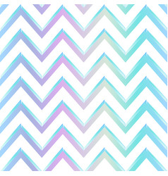 pastel color zigzag pattern vector image