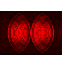 red circle abstract background vector image vector image