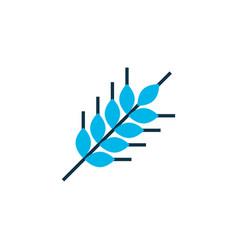 wheat icon colored symbol premium quality vector image