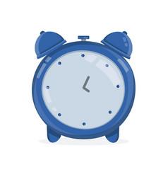 vintage alarm clock modern flat vector image