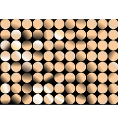 mosaic dotted banner vector image vector image