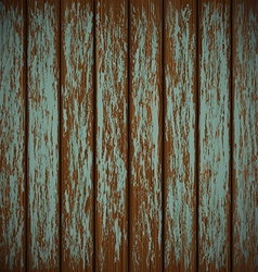 Old wall with shabby paint vector image