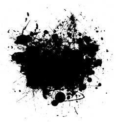 splat black copyspace vector image vector image