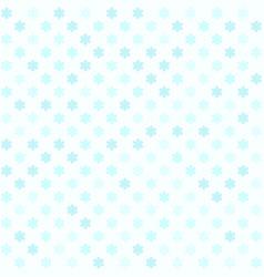Cyan flower pattern seamless vector