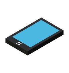 Isometric mobile phone icon vector image