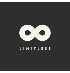 Limitless concept symbol icon or logo template vector