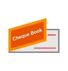 Cheque Book vector