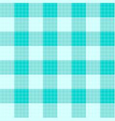 Green mint tartan seamless background vector