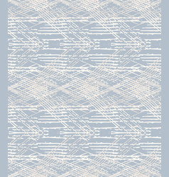 Grey french linen texture seamless pattern vector
