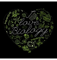I like biology 03 A vector