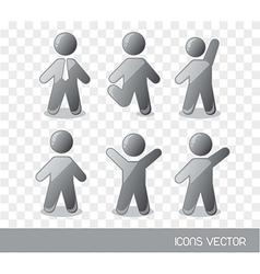 Men sign vector