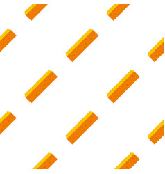 Orange sponge for cleaning pattern seamless vector