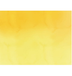 watercolour orange yellow abstract background vector image