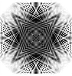 Design monochrome thread interlaced background vector image