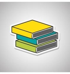 Books icon design vector