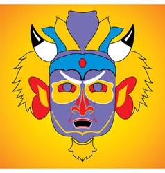 Cultural mask vector