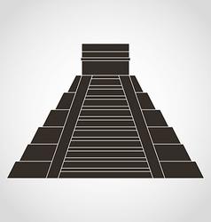 Pyramid mexican vector