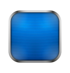 Square icon for fitness app or games vector image