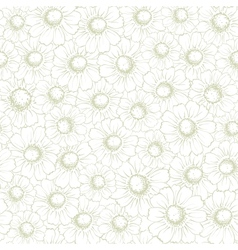 Vintage Seamless Background With Elegant vector image