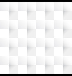 white folded paper texture seamless pattern vector image