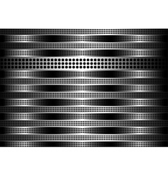 stainless steel vector image