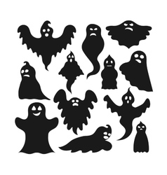 Ghost character vector image