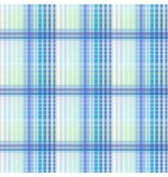 Blue seamless texture plaid vector image
