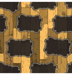 wild west labels seamless pattern vector image vector image