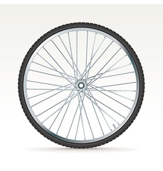Bike tyre vector