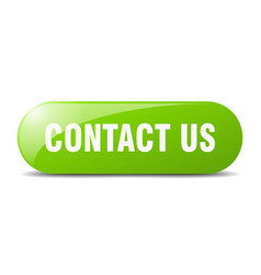 contact us button us sign key push button vector image