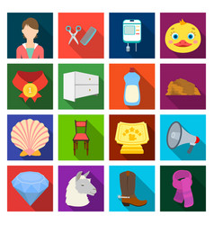 Cosmetology hygiene trade and other web icon in vector