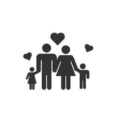 Family icon design template vector