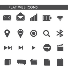 flat web icons 1244244114 vector image